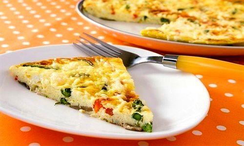Итальянский омлет с овощами (Фриттата)