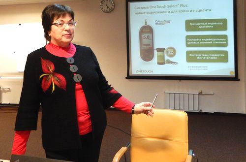 Елена Лебедева обучала коллег в Тольятти