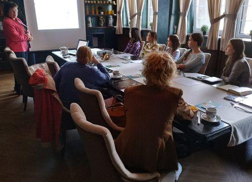 Директор центра Елена Лебедева провела мастер-класс для эндокринологов поликлиник